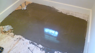 BATHROOM LEVELING Houston